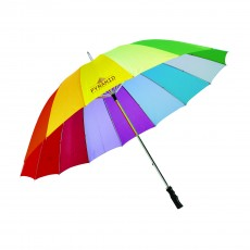 PARAPLUIE ANTI-VENT MULTICOLORE