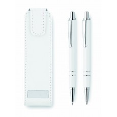 SET STYLO BILLE / PORTE-MINE RONNEL