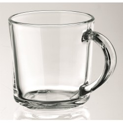 MUG VERRE TRANSPARENT OU GIVRÉ SMILE 20 CL