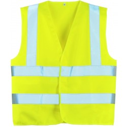 Gilet de sécurité baudrier XL jaune ou orange