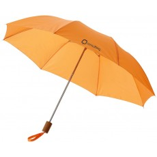 PARAPLUIE POLYESTER 2 SECTIONS ORANGE