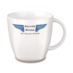 Mini mug porcelaine blanc 20 cl