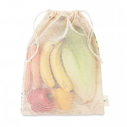 Sac filet réutilisable coton Shoppi 40 x 30 cm