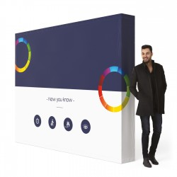 Visuel seul polyester 240g stand 426